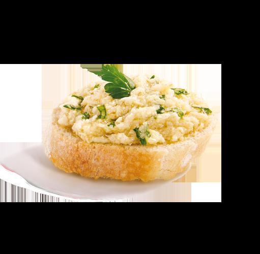 Crostino crema carciofi